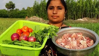 Super Easy Chicken Curry With Chikkudukaya Recipe Prepared By Aunty South Indian Cooking Recipes