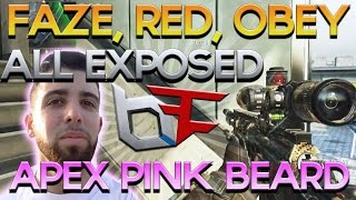 apex dying his beard faze red obey dare l7 exposed red scarce