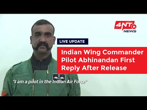 Exclusive!! Indian Pilot Abhinandan's Speech After Release From Pakistan.