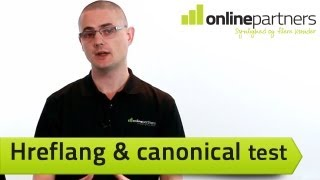 Hreflang & canonical test for international SEO