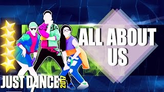 Скачать Just Dance 2017 All About Us By Jordan Fisher