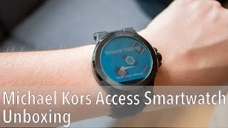 Michael Kors Access smartwatch unboxing!