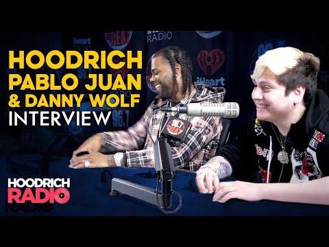 Hoodrich Pablo Juan & Danny Wolf Talk Hood Wolf 2, Tour Life, Designer Drip & More on Hoodrich Radio