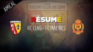 Le résumé de Lens - Malines en amical