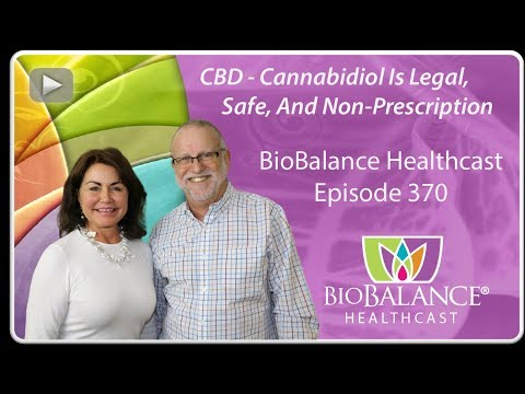 CBD - Cannabidiol Is Legal, Safe, And Non-Prescription
