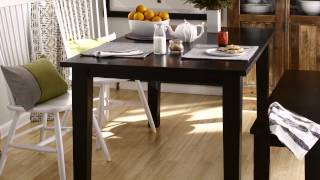 Small Dining Room Arranging Youtube