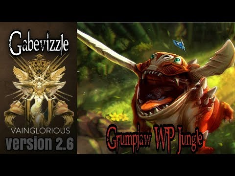 Gabevizzle | Grumpjaw WP Jungle - Vainglory hero gameplay from a pro player