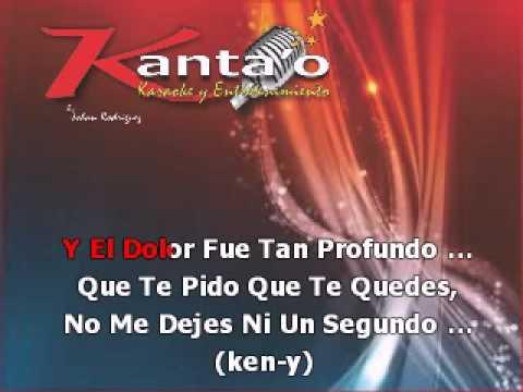 rakim y ken-y quedate junto a mi karaoke