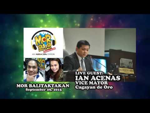 MOR BALITAKTAKAN 09292015 x Vice Mayor Ian Acenas