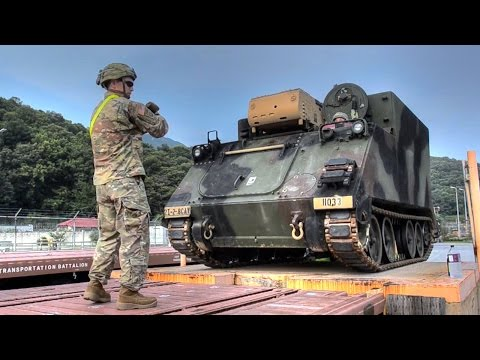 U.S. Army 2-8 Cavalry — Railhead Operations
