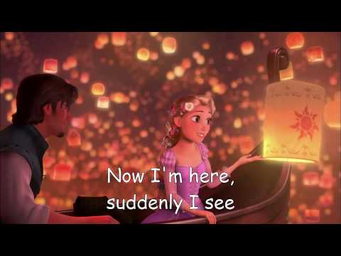 I See The Light  Tangled Rapunzel Soundtrack  Mandy Moore & Zachary Levi