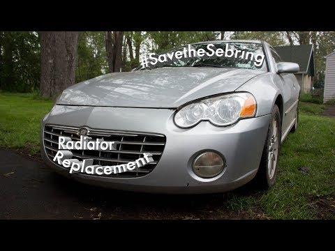 2003 Chrysler Sebring Coupe Radiator Replacement