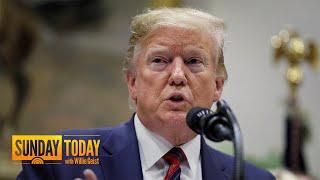 Trump Blasts Don McGahn Amid 60-Tweet Barrage   Sunday TODAY