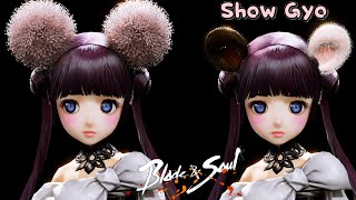 Blade and soul (Complete/Unreal4) Lyn ear shape / 블레이드앤소울(프론…