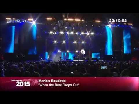 Marlon Roudette  When the Beat Drops Out - Silvester 2014 live vom Brandenburger Tor in Berlin