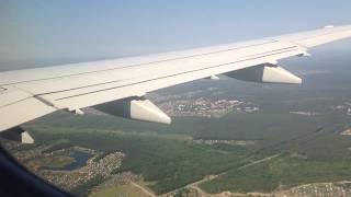 Посадка в Брянске. Embraer 170 / S7 Airlines / DME - BZK. 17.06.2018