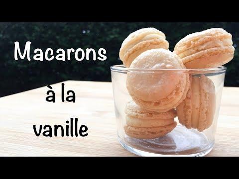 recette-de-macarons-à-la-vanille