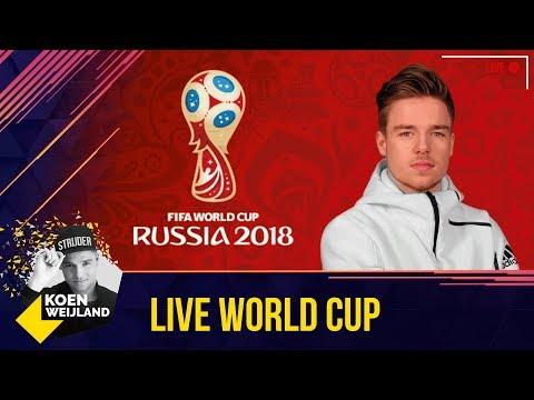 LIVE FIFA18 WORLD CUP MODE | HET BEGIN!