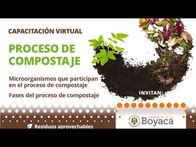 Procesos de compostaje | Capacitación virtual Eko Bojáca y Unigermana