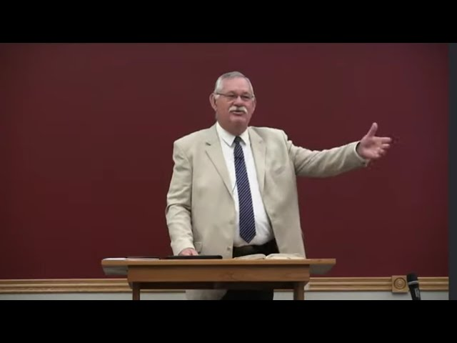 AM 190818 · Dr. Rick Whiteside · Savior Through the Storm · VBC Livestream