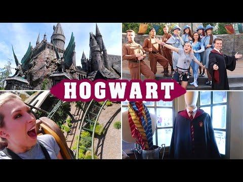 Zwiedzam Hogwart! ⚡ testy jedzenia + HAUL! Potterhead Vlog | Agnieszka Grzelak Vlog