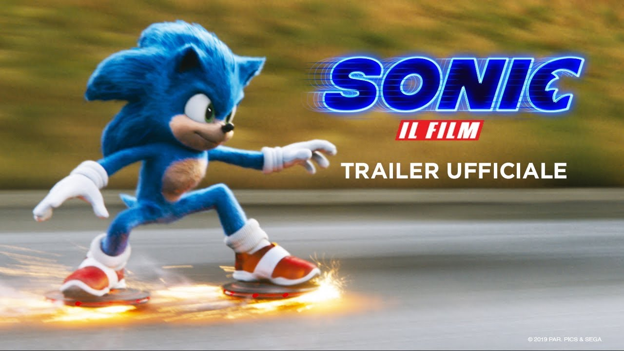 Sonic - Il Film | Trailer Ufficiale HD | Paramount Pictures 2020 - YouTube