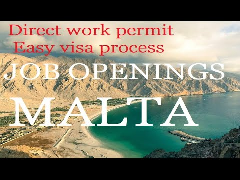Hotel Job Openings In Malta//Apply For New Job In Malta//Latest Job In Malta//How To Get Job Malta