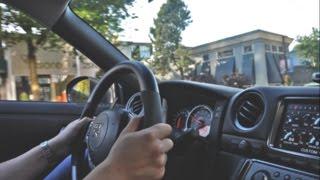 RIDE: Insane 700HP Nissan GT-R w/ GTC Titanium Exhaust - Hard Accelerations & Loud Downshifts!