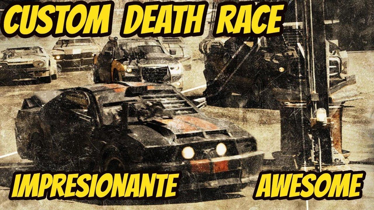 Rancio electo Bloquear  Como se hace un vehiculo de la carrera de la muerte | Death Race car |  Custom death race - YouTube