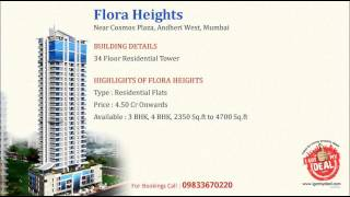 Flora Heights by Flora Group, Andheri West @ 9833670220