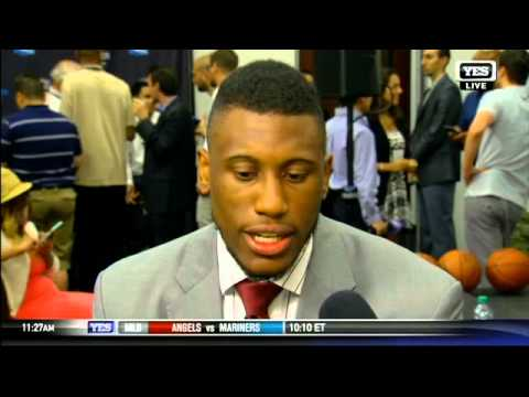 Thaddeus Young on his decision to re-sign with Brooklyn