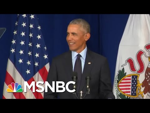 How Long Has Barack Obama Been Waiting To Make That Speech Against Trump?   The Last Word   MSNBC