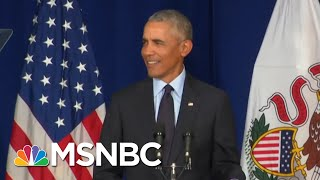 How Long Has Barack Obama Been Waiting To Make That Speech Against Trump? | The Last Word | MSNBC