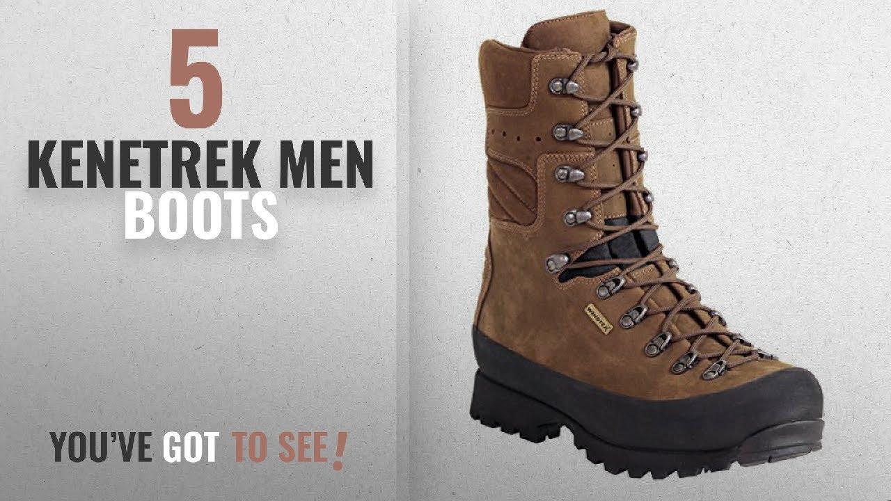 b4c89412bef Top 10 Kenetrek Men Boots [ Winter 2018 ]: Kenetrek Mountain Extreme NI  Boots, Brown, 10.5 Wide
