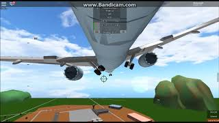 Roblox l A Place with Airliners - Air Canada - boeing 787-8 - full flight
