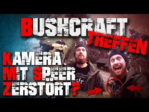 Gopro mit Speer zerstört? Bushcraft Outdoor Survival Treffen (3/3)