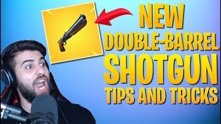 HOW TO WIN | NEW Double-Barrel Shotgun Tips and Tricks (Fortnite Battle Royale)