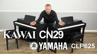 Kawai CN29 vs Yamaha CLP625   Helping You Choose Which Piano To Buy