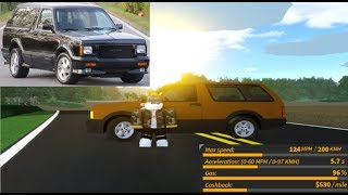 Review of the NEW GMC Typhoon in Ultimate Driving Roblox!