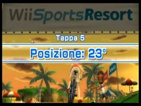 let's play WII SPORT RESORT parte 3