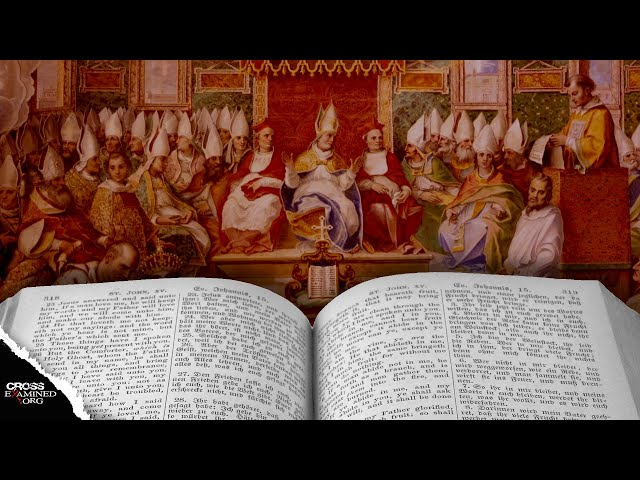 Did church councils give us the Bible?