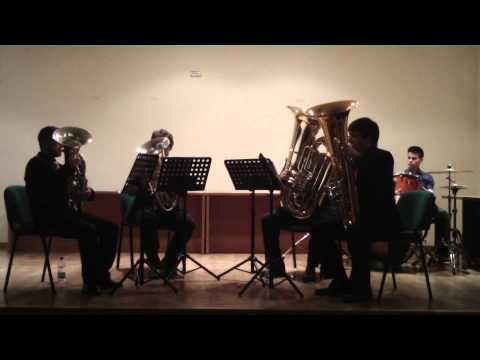 Pink Panther - Henry Mancini   MTQ - Málaga Tuba Quartet