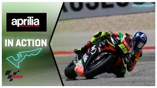 Aprilia in action: Red Bull Grand Prix of the Americas