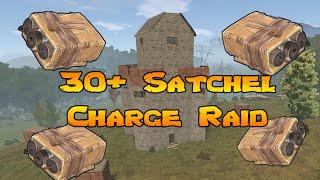 rust   big satchel charge raid vanilla