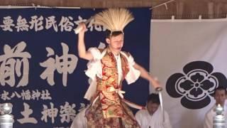 2017飯盛神社 豊前神楽奉納 剣 13-8