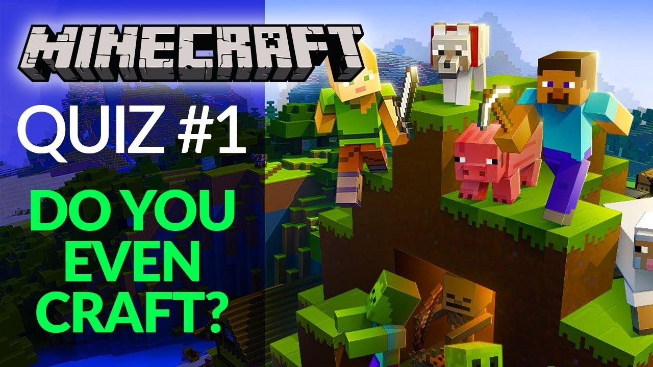 Minecraft Quiz #1 - Easy Trivia for True Fans