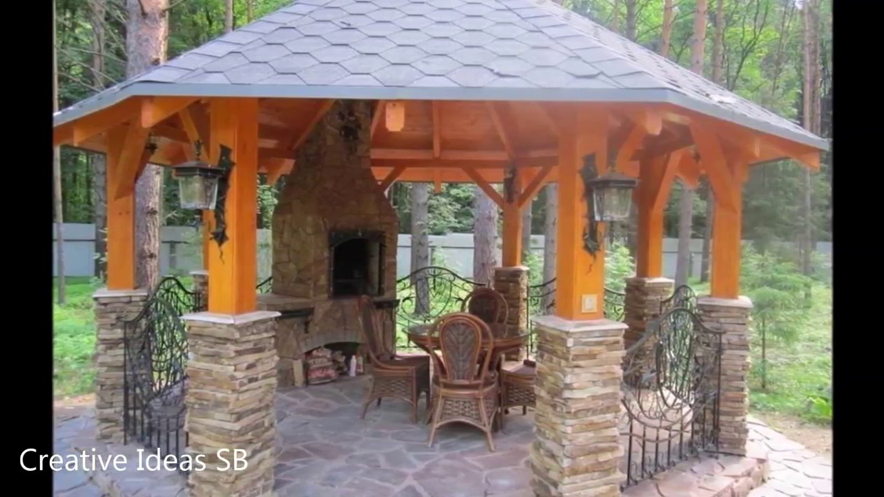 over 30 stone grill outdoor ideas amazing barbecue design and