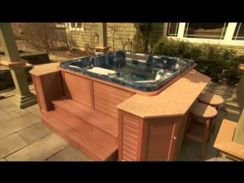 Beau Revolutionary Technology In Hot Tub Cabinets