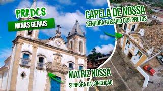 Prados/Minas Gerais: caminhos da Inconfidência Mineira, casario histórico e igrejas barrocas!