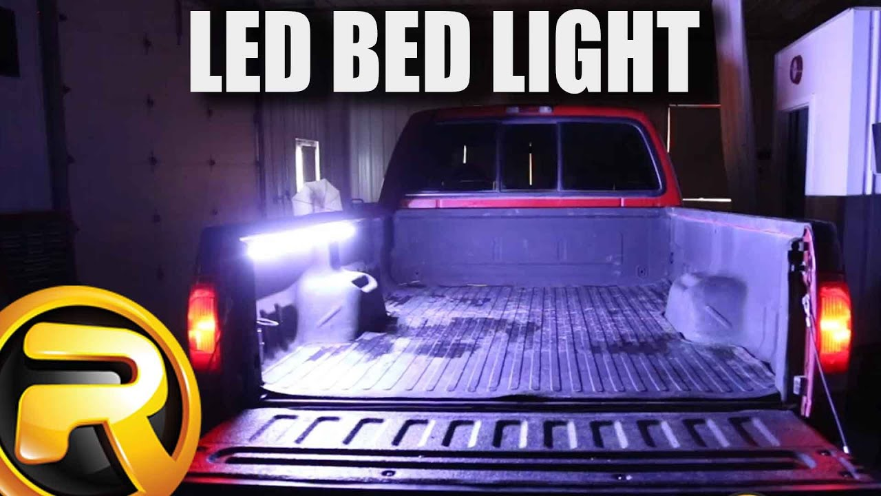 How To Install Access Truck Bed Led Light Strip Youtube